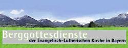 Berggottesdienste der Evangelischen-Lutherischen Kirche in Bayern